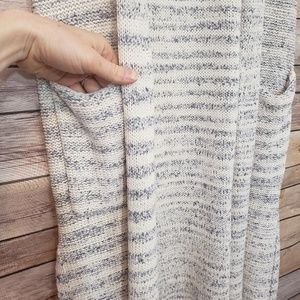 GAP Sweaters - 3/$20 Gap Light Blue Marble Sleeveless Cardigan